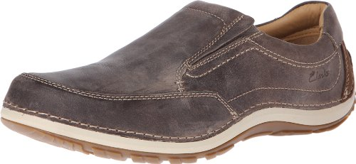 Clarks Men's Shiply Step Slip-On Loafer Olive
