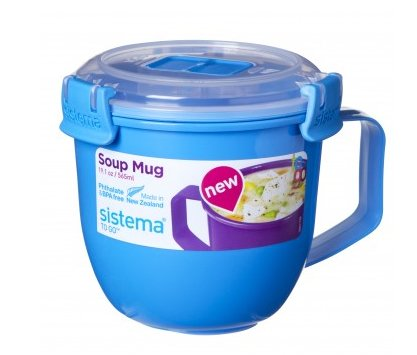 Sistema To Go Soup Mug, 565 ml, blue 9414202261427