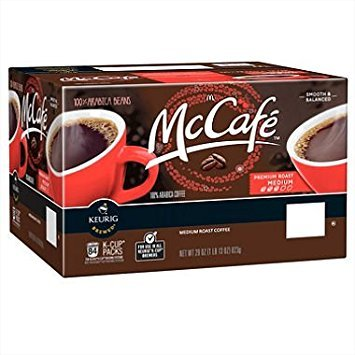 McCafe Premium Roast Coffee (84 K-Cups) (Pack of 2) by McCafe