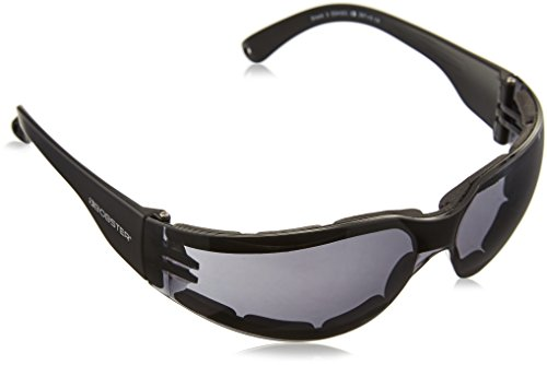 Bobster ESH301 Shield 3, ANSI Sport Sunglasses,Black Frame/Smoked Lens,one size
