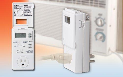 Termostato de salida programable de calefacción y enfriamiento Lux WIN100-A05