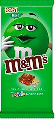 New M M S Minis Milk Chocolate Candy Bar Crispy Almond Peanut Mint Stocking Stuffer Gift Set 3 8oz Mint Single Bar Buy Online In Haiti At Haiti Desertcart Com Productid 154526719