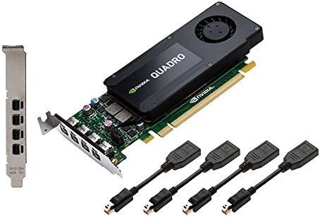 PNY VCQK1200DP-PB NVIDIA Quadro K1200 4GB scheda video