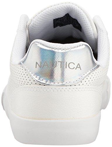 Nautica Kvinders Damp Sneaker Iriserende Sølv uE53Qr4nsy