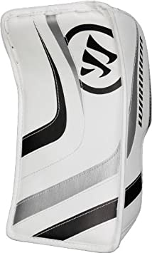 Warrior Junior Ritual Hockey Goalie Blocker, White/White/Royal GBRTJ2 JR