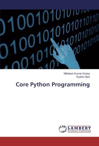 Core Python Programming by LAP LAMBERT Academic Publishing