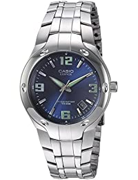 Mens Edifice EF106D-2AV Stainless Steel Watch. Casio