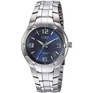 Men's Edifice EF106D-2AV Stainless Steel Watch