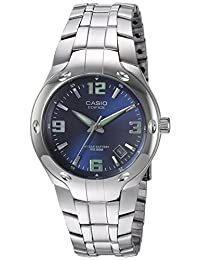 Casio Men's EF106D-2AV Edifice 10-Year-Battery Analog Bracelet Watch