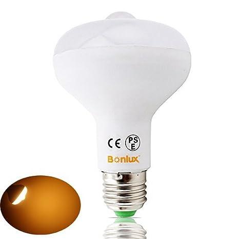 Bonlux R80 LED Sensor bombilla de proyección E27 7W cálido blanco 2800K 60 vatios tornillo de