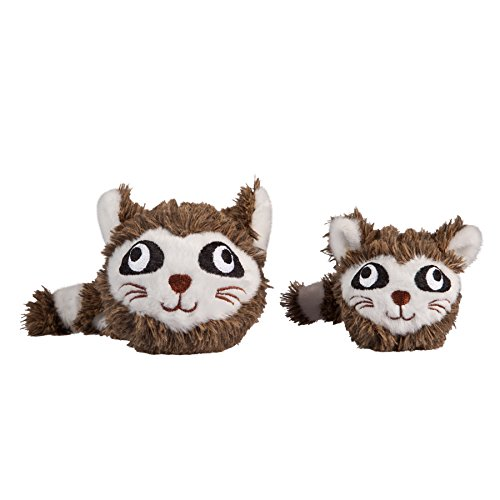Image of fabdog Raccoon faball Squeaky Dog Toy (Small)
