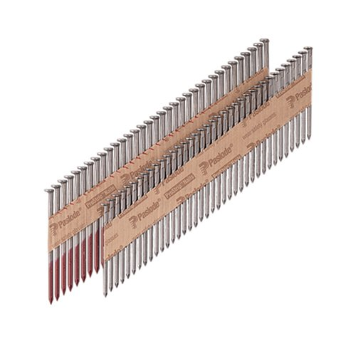 Paslode 650273 Round Head 2-Inch by .113-Inch by 30 Degree Paper Collated Ring Shank Framing Nail (5,500 per Box)