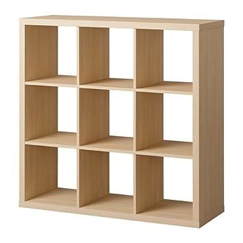 Ikea Kallax étagère 3 X 3 Bouleau 20415598 Amazonfr Cuisine