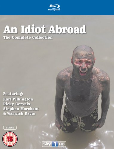 Idiot Abroad Series: 1 - 3 [Blu-ray]