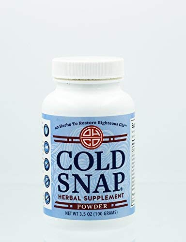 Cold Snap by OHCO Oriental Herb Co - Cold, Cold Remedy, Cold Relief, Flu Remedy, Flu Relief, Flu Prevention, Ease Cold Symptoms - All Natural High-Quality Chinese Herbal Remedies 120 Capsules (Best Herbs For Cold And Flu)