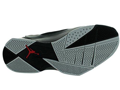 Jordan Nike Herren True Flight Basketballschuh 002-schwarz / Gym Red-anthrct-wlf Gry