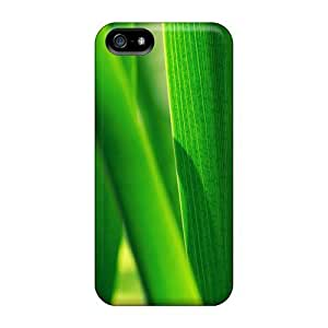 USMONON Phone cases Iphone Iphone 5 5s Case Cover Skin : Premium High Quality Leaves Selected Case