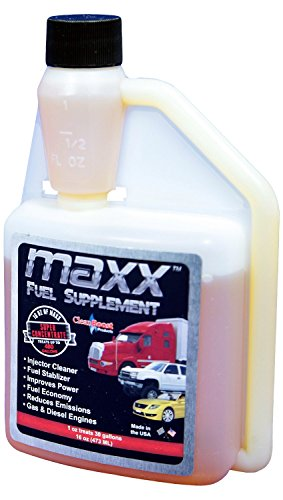 (CleanBoost® MaxxTM 16oz Fuel Treatment for Gas & Diesel Fuel - Treats 480 Gallons)