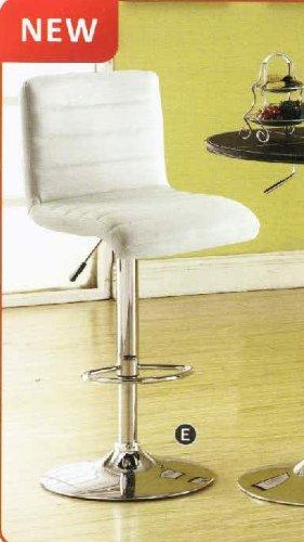 Furniture of America CM-BR6905WH Passore White Bar Stools