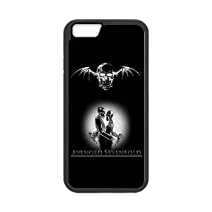 Protective TPU Rubber Coated Case Cover for iphone 5c - A7X Avenged Sevenfold