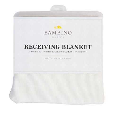 COTTON - Waffle Knit Thermal Receiving Blankets - 30