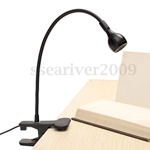 Armyshop Flexible USB Rechargeable LED Light Clip-on Bed Table Desk Study Reading Lamp (Walmart Dinning Sets)