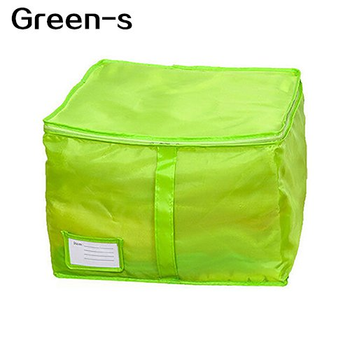 yanbirdfx Clothes Bedclothing Duvet Pillows Zipper Storage Bag Box Hand Handles Luggage Rose-m by yanbirdfx (Image #6)