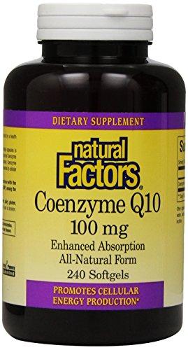 Природные факторы Coenzime Q10 капсула, 100 мг, 240 Граф