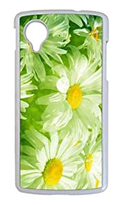 Beautiful Flower Native Design Case for Google Nexus 5 PC White by Cases & Mousepads