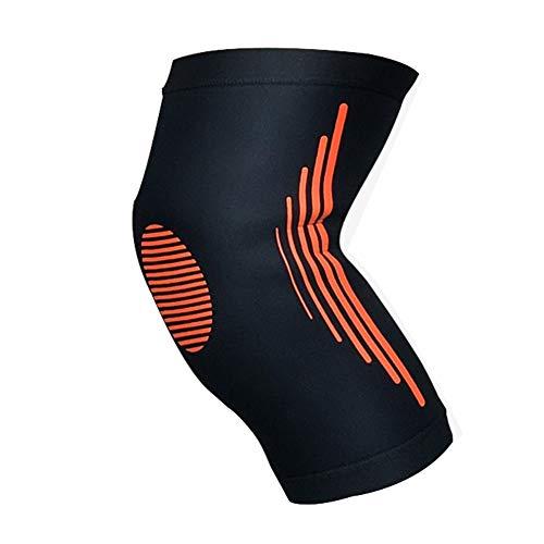 スツール適格マインド膝サポート、バスケットボールサッカースポーツアンチコリジョンプレッシャーニーパッドレギンス、登山通気性と速乾性の保護装置(1個)Nayang Store