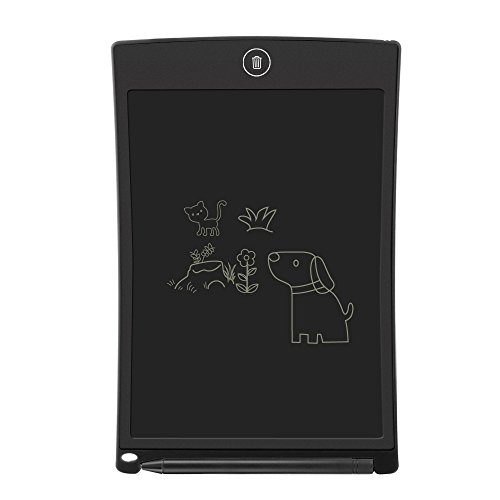 LCD Writing Tablet,Electronic Writing &Drawing Board Doodle Board,Sunany 8.5 Handwriting Paper Drawing Tablet Gift for Kids and Adults at Home,School and Office (Black)
