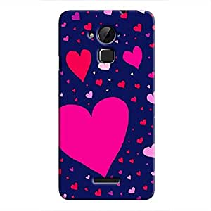 Cover it up Flying Love Hard Case for Coolpad Note 3 - Multi Color