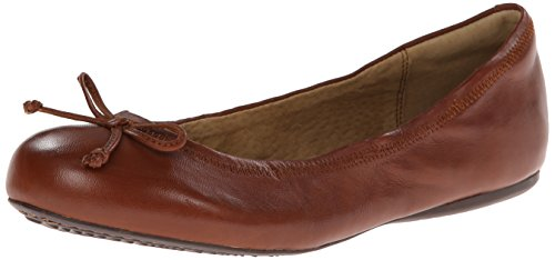 Soft Kvinna Narina Balett Platt Tan Läder