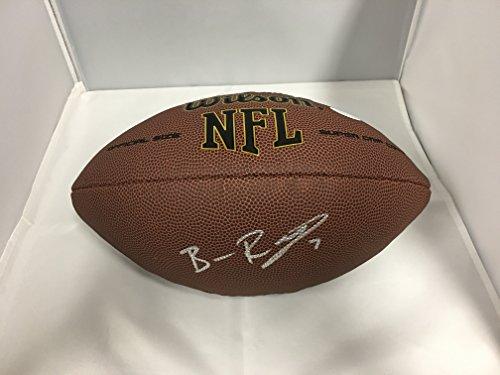 Ben Roethlisberger Autographed Signed Pittsburgh Steelers NFL Football COA & Hologram