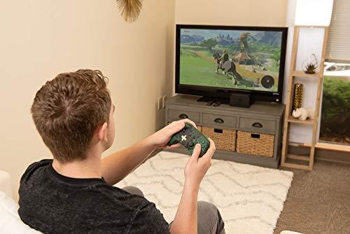 PowerA Enhanced Wireless Controller for Nintendo Switch - Link Silhouette 7