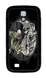 Samsung S4 Case,VUTTOO Cover With Photo: Ying And Yang For Samsung Galaxy S4 I9500 - TPU Black