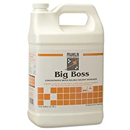 Franklin Cleaning Technology FRK F266022 Big Boss Concentrated Degreaser, Sassafras Scent, 1 gal Bottle (Pack of 4)