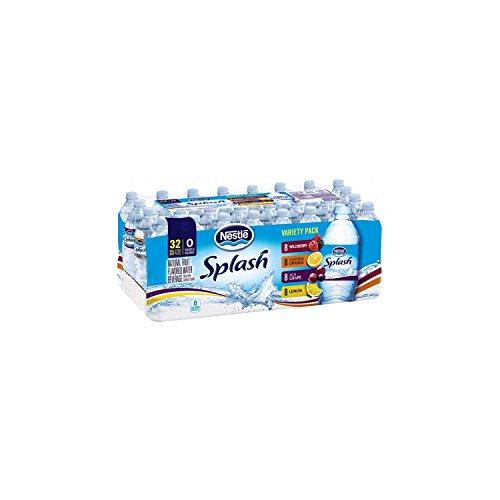 Nestle Pure Life Splash Variety Pack (16.9 fl. oz., 32 ct.)vevo