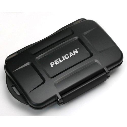 Pelican 0910-015-110 Memory Card Case - Polycarbonate - Black - 16 Memory Card ()