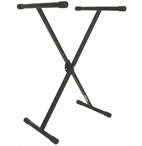 ASC Professional Electric Piano Keyboard Stand Single X Brace Adjustable Height by American Sound Connection