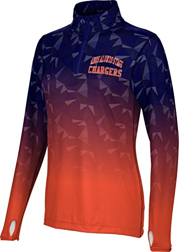 Price comparison product image Women's Amos Alonzo Stagg High School Maya Half Zip Long Sleeve (Apparel)