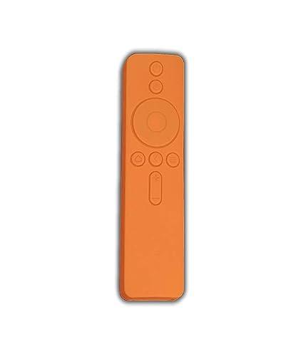on sale c4a6d 240f3 SuperCart Anti Slip Silicone Protective Case/Cover for Xiaomi Mi TV Remote  Controller (Orange)