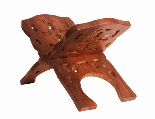 Regal Wooden Folding Reading Bible Holy Book Stand Holder, Home Decorative