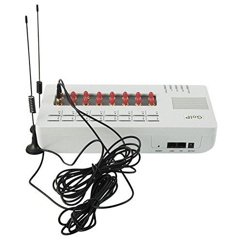 DBL original GOIP-16 VoIP GSM SMS gateway GOIP gateway Support SIM BANK32,5years warranty