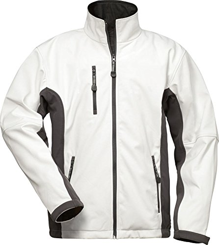 CRAFTLAND Softshell-Jacke - 19990 - weiß/grau - Größe: L