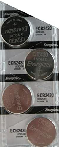 4 Pack Energizer CR2430 Lithium Coin Button Cell battery