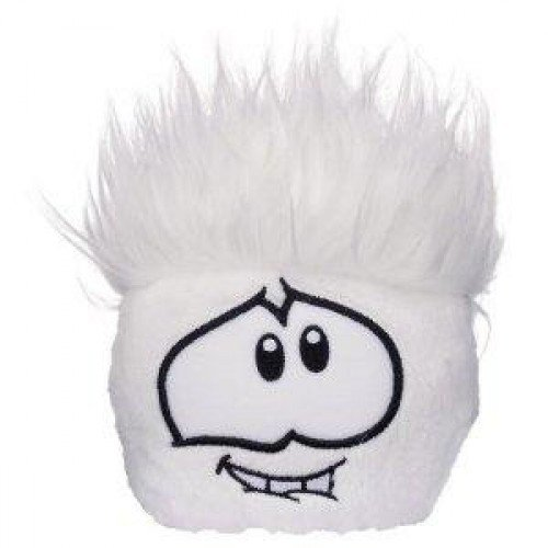 Club Penguin Puffle Plush - Wave 7 - Puffle Party 2011 White (Wave 4) ()