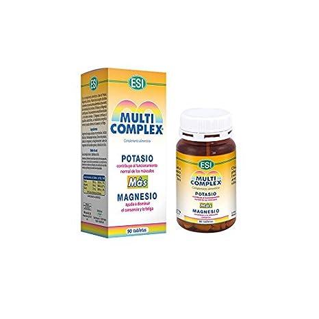 ESI - MULTICOMPLEX POTASIO MAGNESIO 90tab ESI: Amazon.es: Salud y cuidado personal