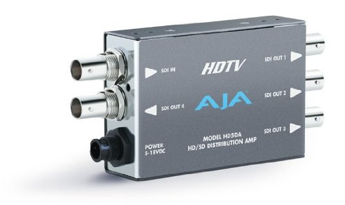 AJA HD5DA HDTV Serial Digital Distribution Amplifier by AJA Video Systems