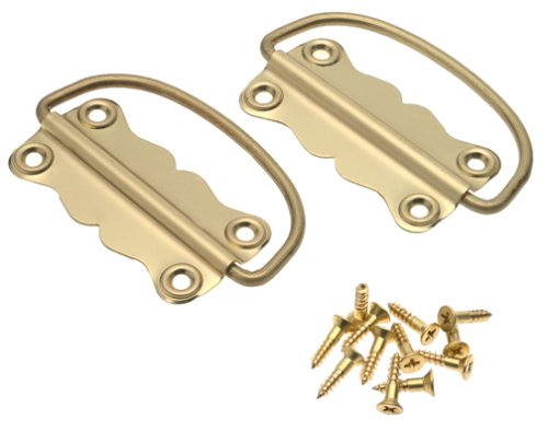 (Stanley Hardware 80-3610 Solid Brass Handle Chest )